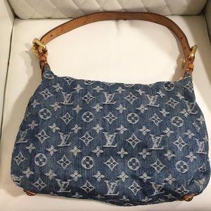 Louis Vuitton Bags - BEST PRICE Louis Vuitton Monogram Baggy Denim Bag 31819dd3634cc